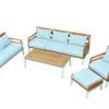Bermuda White Set