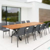 Bertha Extendable Dining Table Restaurants Hospitality