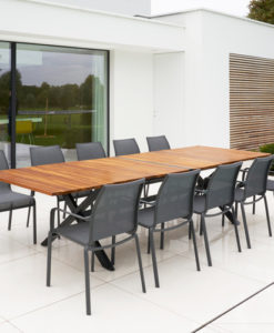 Bertha Extendable Dining Table Restaurants Hospitality