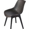 Brato Armless Dining Chair Restaurant Outdoor Furniture