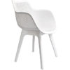 Modern Polypropyleen Black White Grey Dining Chair