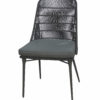 Modern Aluminum Rope Dining Chair W Cushion