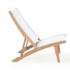 Dale Club Chair Traditional Teak Batyline Pool and Beach Furniture Hospitality