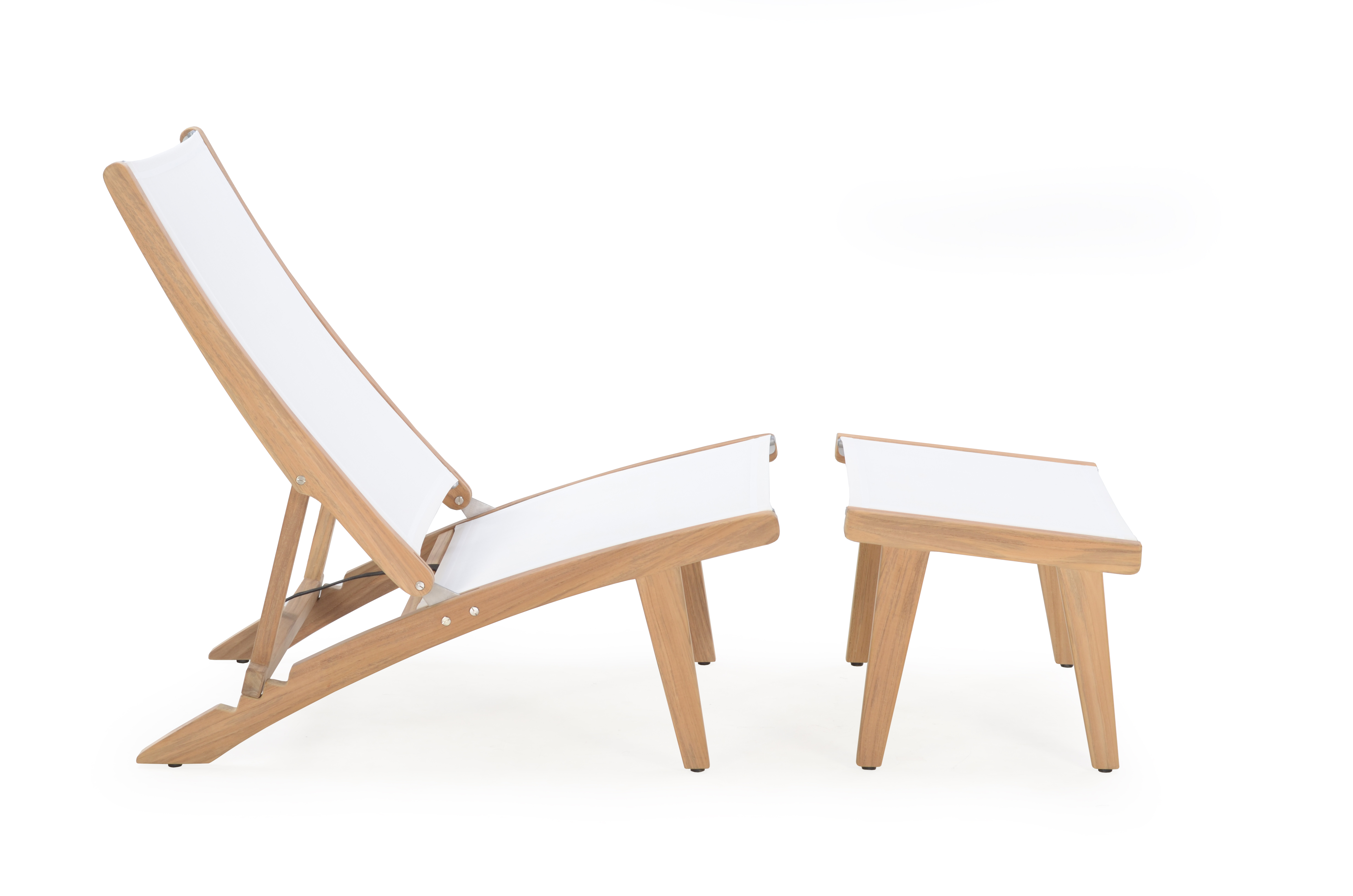 Dale Reclining Deck Chair Stellar Couture Outdoor