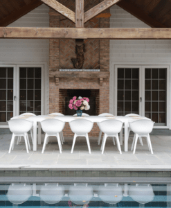 Dining Chair Restaurant Contract Modern Patio Furniture