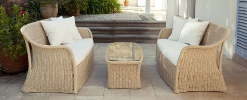 Elana 2 Seater Sofa Wicker Pool Patio Furniture Florida
