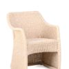 Elana Armchair Wicker Hospitality Restaurants Outdoor Furniture