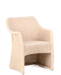 Elana Armchair Teak Wicker Luxury Contract Outdoor Furniture
