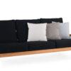 Eva 3 Seater Sofa Modern Teak Contract Pool Furniture 1