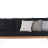 Eva 3 Seater Sofa Modern Teak Contract Pool Furniture