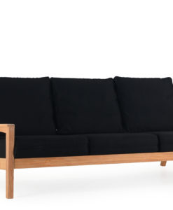 Eva 3 Seater Sofa Modern Teak Contract Pool Furniture