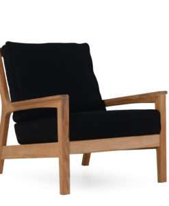 Eva Club Chair Modern Teak Contract Pool Furniture