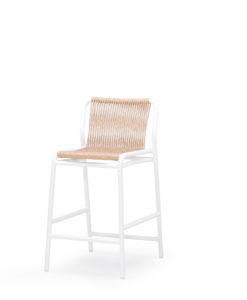 Flyn Bar Stool Rope & Wicker Stellar