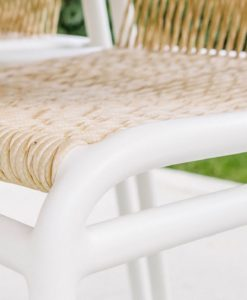 Flyn Dining Chair Details Contemporary Rope Patio Furniture Hotels Hospitality Outdoor