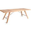 Kaylin Dining Table Modern Teak Restaurant Outdoor Contract 2