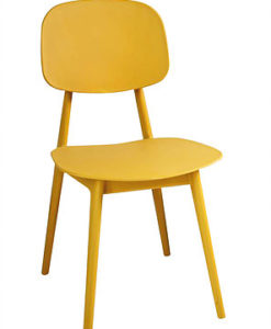 Modern Colorful Plastic Dining Chair