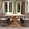 Malibu Dining Chair Traditional Patio Restaurant Furniture Contract Tropical Design