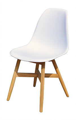 Ariele Teak Base White Grey Black Tub Dining Chair Dining Chair Luxury  Modern Contemporary Outdoor Contract