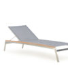 Patt Chaise Lounger Stainless Steel Chaise Lounger Luxury Contract Outdoor Furniture 1