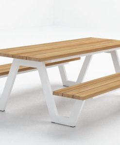 sleek picnic table