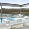 Picnic Outdoor Dining Table Contract Furniture Luxury Hospitality