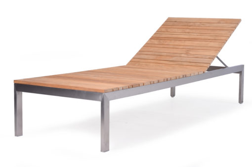 Premier Chaise Lounger Teak Patio Pool Furniture Contract 1