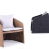 Elano Club Chair Traditional Outdoor Patio Furniture 1