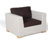 Weave Club Chair Contract Outdoor Furniture Hamptons Florida