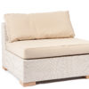 Weave Middle Piece Contract Outdoor Furniture Hamptons Florida