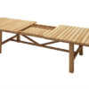 Zinox Extendable Teak Dining Table Contrract Furniture