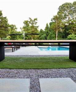 live edge modern teak dining table custo