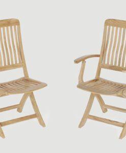 Bridgehampton Dining Chair Teak Traditional Patio Restaurant Outdoor Furniture