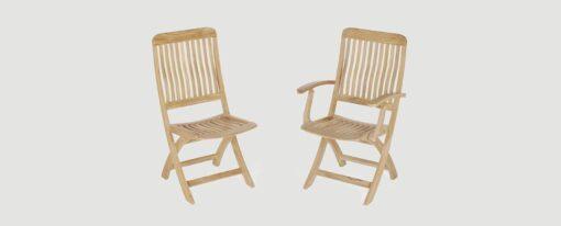 Bridgehampton Dining Chair Stellar Teak Traditional Patio Restaurant Outdoor Furniture
