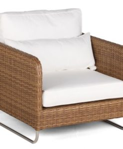 Delmer Club Chair Wicker Hospitality Patio Furniture