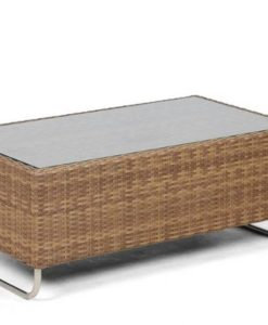 Delmer Coffee Table Wicker Hospitality Patio Furniture