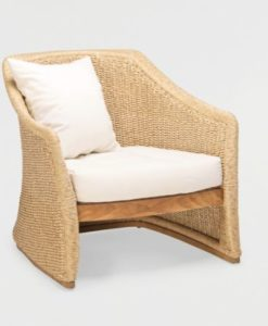 Elana Teak Club Chair Wicker Teak Traditional Contract Outdoor Furniture All Weather
