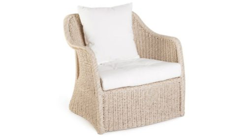 Elana Wicker Club Chair Caribbean Traditional Design Hotels Contract Outdoor Furniture All Weather