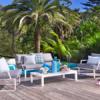 Averon 2 seater sofa outdoor seating lounge area hotel pool furniture vegas boston greenwich palm beach 1
