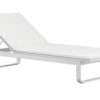 Averon contemporary modern outdoor living chaise sun lounger textilene with cushion contract hospitality hotel restuarant beach club house miami fl hamptons ny los angeles ca