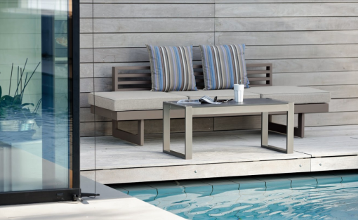 Balcony Bench Modern Fits in Tight Areas Outdoor Furniture