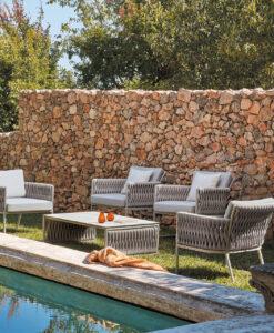 Basket 2 Seater Sofa & Club Chairs