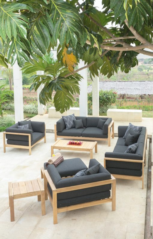 Belize Luxury Outdoor Furniture Collection Teak Modern