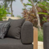 Belize Teak Close Up Fabric Sofa Outdoor Furniture Modern