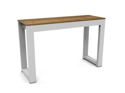 Bermudafied-modern outdoor teak white black bar stool bench hotel contract hospitality retaurant-