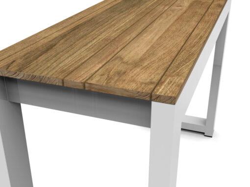 Bermudafied-bar height bench