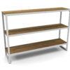 Bermudafied-modern teak white black outdoor storage shelves decor Rack-3 (1)