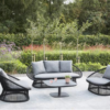 Divine transitional outdoor wicker lounge seating area fl ny ct ca tx boston