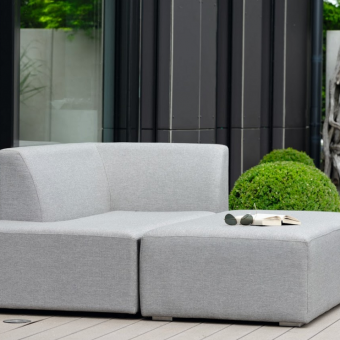 Aphrodite modular outdoor fabric outdoor furniture bold modern Adjustable backrest