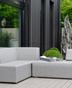 Modern Aluminum 3 Seater Adjustable Modular Sofa