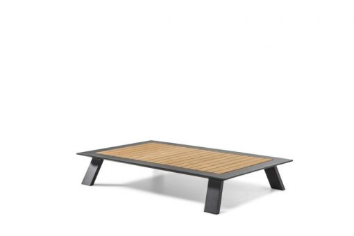 Dream coffee table black teak modern outdoor hotel restuarant beach club house miami fl hamptons ny los angeles ca